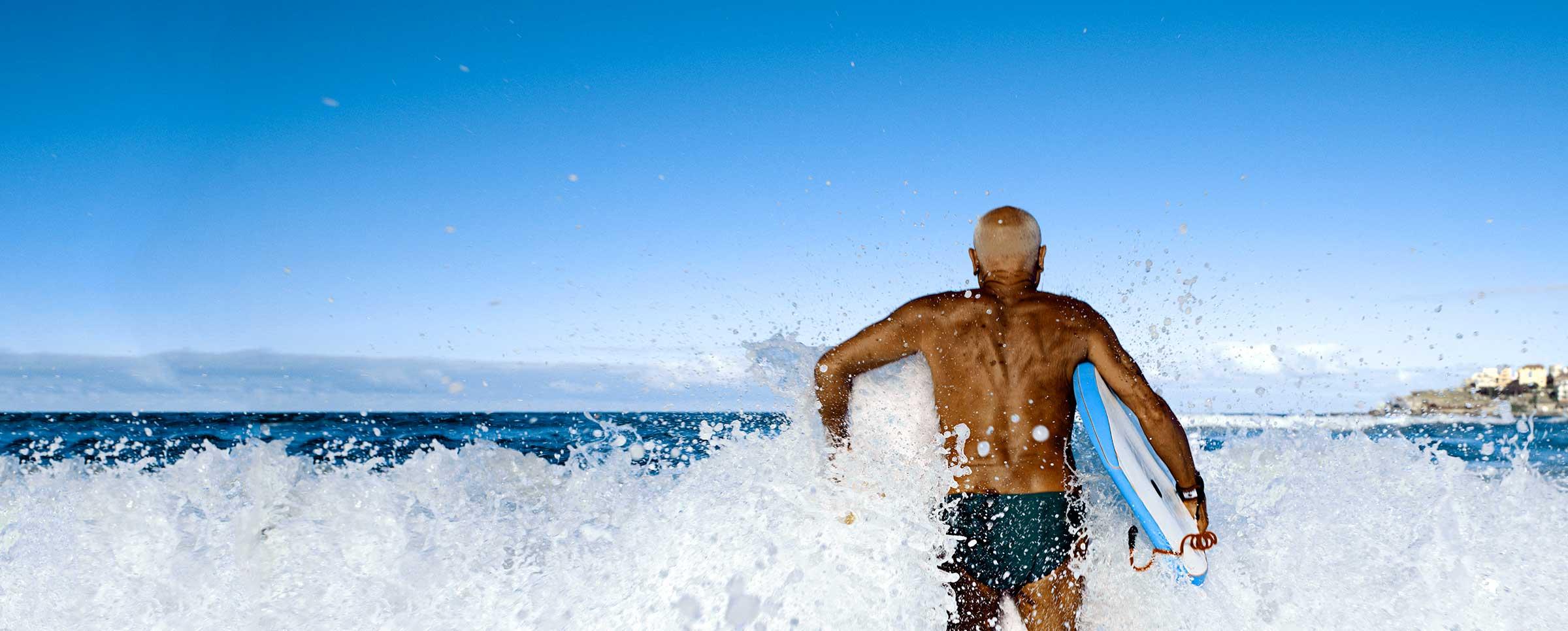 Man Surfing 2