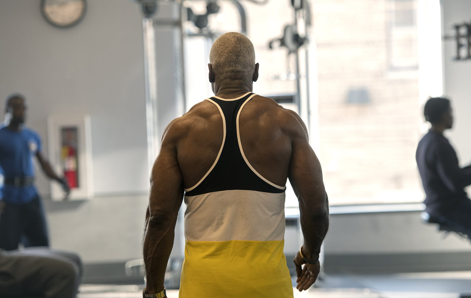 Donald Back Muscles