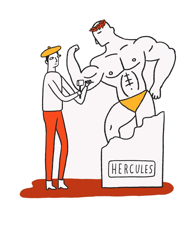Hercules Illustration